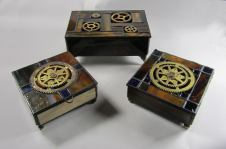 Small Steampunk boxes